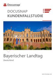 Docusnap-Kundenfallstudie Bayerischer Landtag