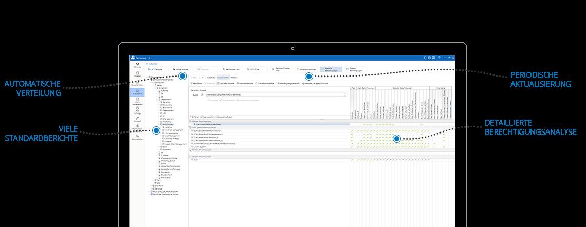 Screenshot: Beschreibung des Aufbaus einer Sicherheitsanalyse