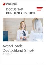 Titelseite Kundenfallstudie AccorHotels Deutschland GmbH