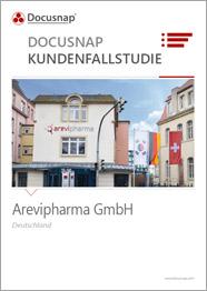 Titelseite Kundenfallstudie Arevipharma GmbH