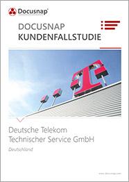 Titelseite Kundenfallstudie Deutsche Telekom Technischer Service GmbH