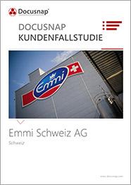 Titelseite Kundenfallstudie Emmi Schweiz AG