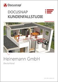 Titelseite Kundenfallstudie Heinemann GmbH