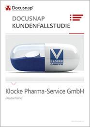 Titelseite Kundenfallstudie Klocke Pharma-Service GmbH