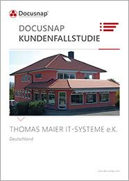 Titelseite Kundenfallstudie Thomas Maier IT-Systeme e.K.
