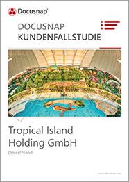 Titelseite Kundenfallstudie Tropical Island Holding GmbH