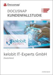 Titelseite Kundenfallstudie kelobit IT-Experts GmbH