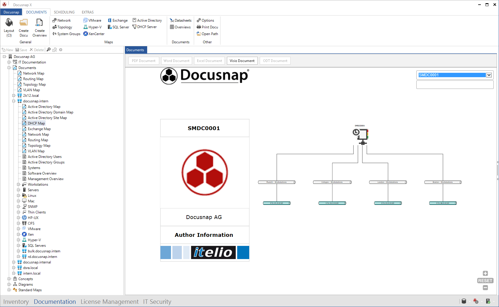 DHCP Map