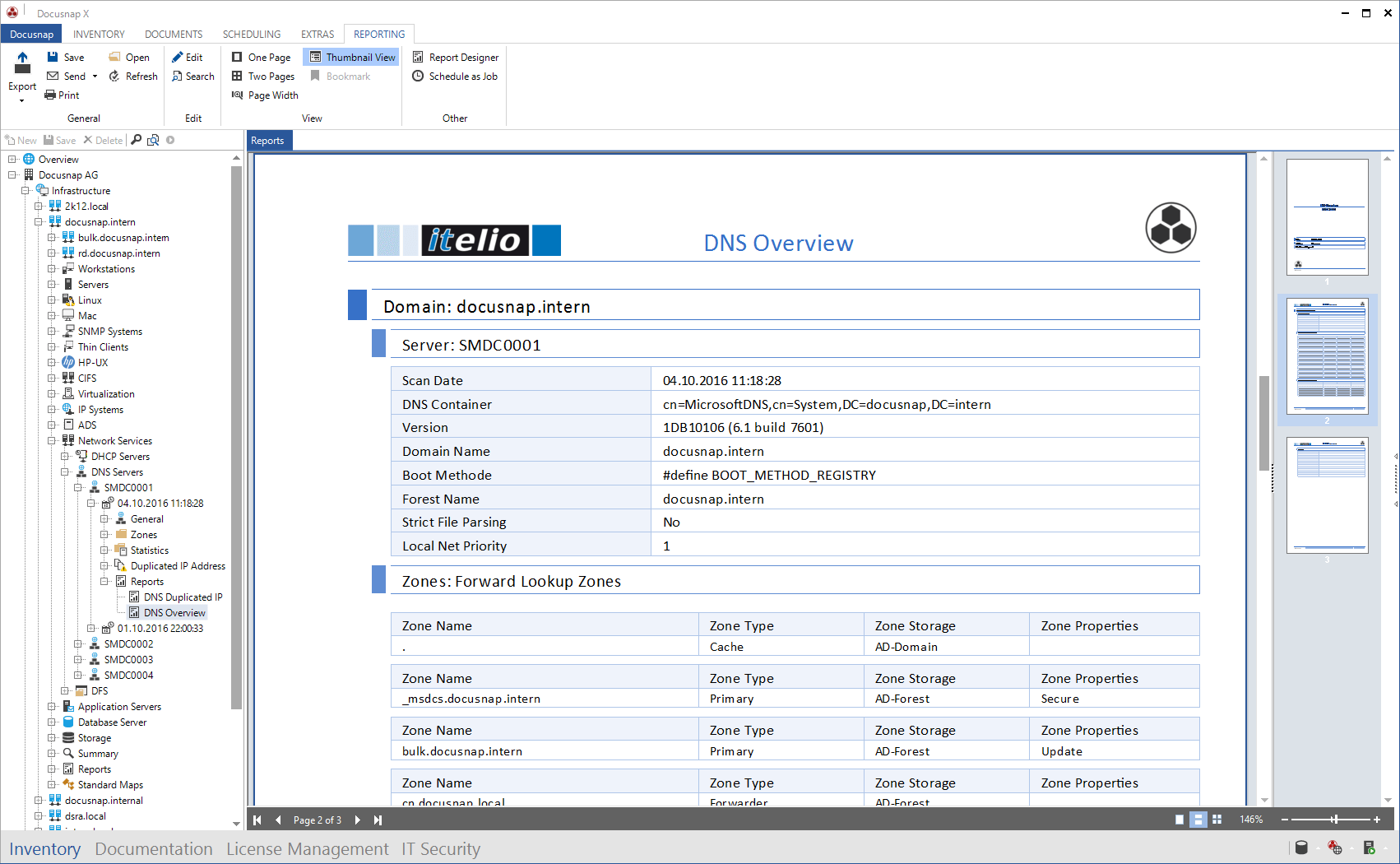 Report DNS Overview