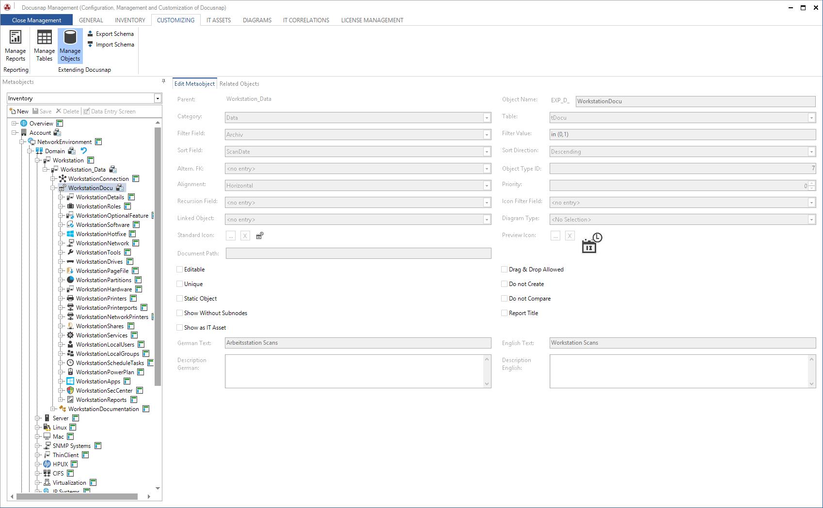 Edit Data Explorer