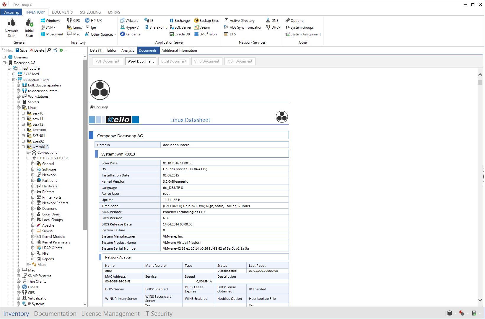 Linux Datasheet