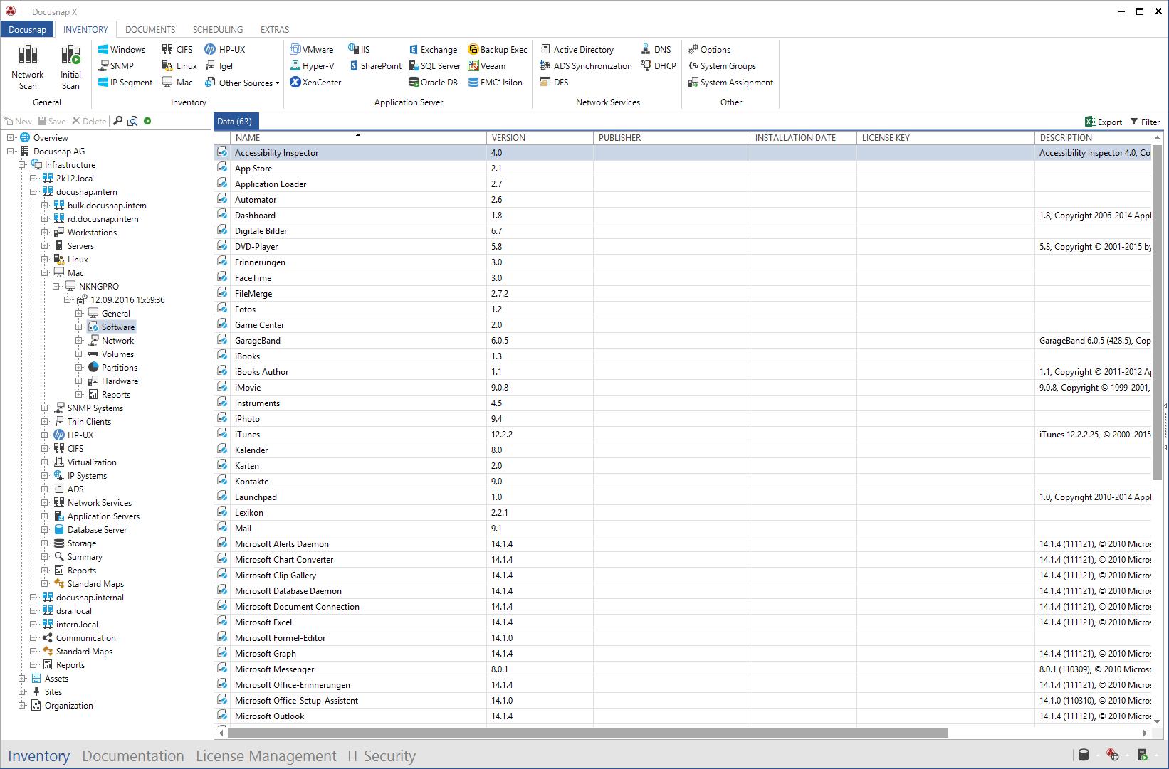 Data Explorer Mac Software