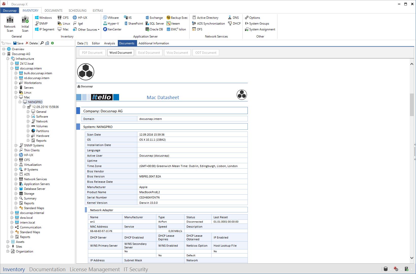 Datasheet Mac