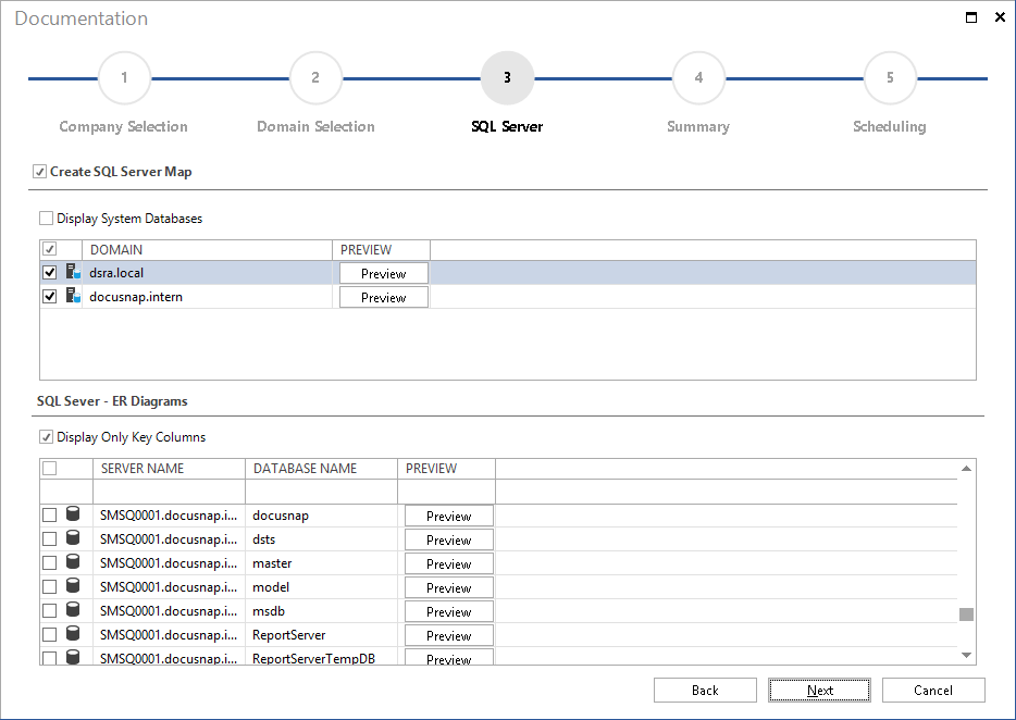 Create SQL Server Plan